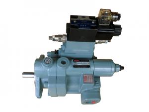 兩壓兩流附電磁兩段壓控制型柱塞泵