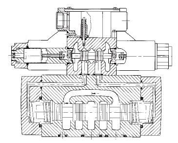 电磁导引阀结构图